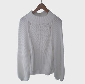 New Free People Sweetheart Pullover Sweater Large